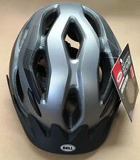 Bell Track Adult/Youth Bike/Bicycle Helmet Reflector Lighweight Grey Brand New