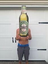 Metal Heineken Beer Bottle Sign Man Cave Garage