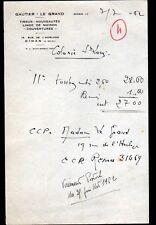 """DINAN (22) TISSUS , LINGE DE MAISON , NOUVEAUTE / MODE """"GAUTIER & LE GRAND"""" 1962"""