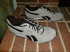 REBOOK BROWN LEATHER ATHELETIC SHOES WOMEN'S SIZE 8M