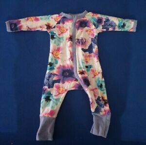 Bonds Petal Flower Wondersuit Zippy Size 000 2016