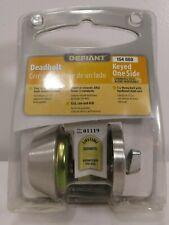 Defiant-Keyed-One-Side-Deadbolt-154-660 Stainless Steel