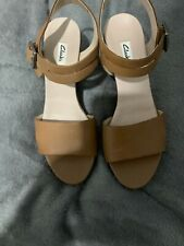 Clarks Wedge Sandals Aize 7