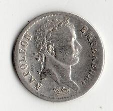 TRES RARE 1/2 FRANC NAPOLEON EMPEREUR ARGENT 1811 T ( NANTES ) @ PETIT TIRAGE
