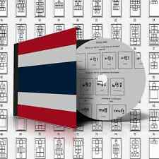 THAILAND STAMP ALBUM PAGES 1883-2011 (510 pages)