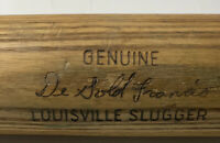 "1960s Louisville Slugger Game Used Bat DeGold Francis 35"" *See Photos* 🔥"