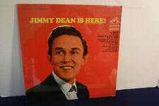 Jimmy Dean Is Here!, RCA Victor Records LSP 3727, 1967, SEALED, Country