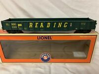 ✅LIONEL READING PS-5 DROP END GONDOLA CAR 6-17458! O SCALE DETAILED MILL TRAIN