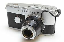 Vintage Olympus Pen F Half-Frame 35mm SLR Medical Camera Body w/ PA-3 Adapter
