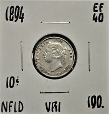 1894 Newfoundland 10 cents