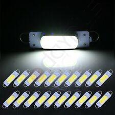 20X White 1.73 inch/44mm Rigid loop Car Interior Festoon LED Light For Dome Map