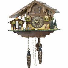 Cuckoo Clock Quartz-movement Chalet-Style 24cm by Trenkle Uhren