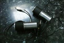 Vintage Panasonic Nacional wm-2244n Baja Impedancia Mini micrófono Micrófonos X 2