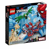LEGO Marvel Super Heroes 76114 Spider-Man's Spider Crawler Set (418 Pieces)