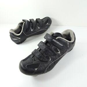 Specialized Women's Spirita Road Shoes Black Komen Size 7.5 Breast Cancer