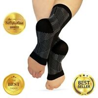 Copper Compression Recovery Foot Sleeves - Ankle and Plantar Fasciitis Support