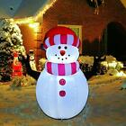 Snowman Christmas 5 Ft With LED Lights Inflatables Outdoor Decorations Clearance