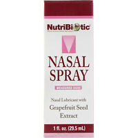 NutriBiotic  Nasal Spray  with Grapefruit Seed Extract  1 fl oz  29 5 ml