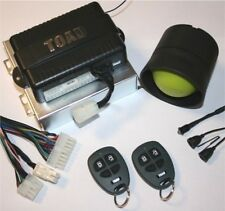 TOAD AI606 Cat 1 one Car/van Alarm fully fitted Leads area