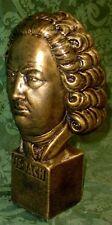 Johann Sebastian Bach Bust Music Composer Classic Sculpture Statue 17071