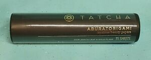 TATCHA ABURATORIGAMI Japanese Blotting Beauty Papers Absorbs Oil 35 Sheets NEW!!