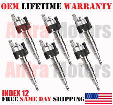 6pcs OEM Siemens Fuel Injectors for 2007-2008-2009-2010 BMW 335i 3.0L - INDEX 12