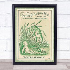 Vintage Advert Retro Sign Wall Art Print Design 2