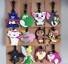 150 Styles Disney Mickey Stitch Moana TAZ Dumbo Star Wars Peppa Pig Luggage Tags
