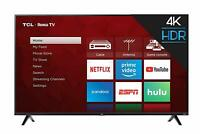 TCL 65-inch 4K Ultra HD HDR Roku Smart TV *65S425