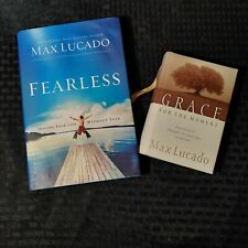 Fearless, Grace for the Moment Devotional Max Lucado Hardcover Lot