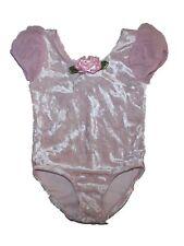 Toddler Girl Capezio Future Star Short Sleeve Velour Dance Leotard Size XXS