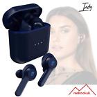 Skullcandy Indy True Wireless Earbuds, Bluetooth Microphone Headphones - Blue