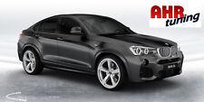 21 Zoll BMW X3 X4 Alufelgen je 2 x 9x21 und 10,5x21  Diewe Trina silber