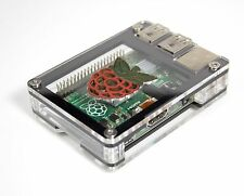 Zebra Black Inlay Case - for Raspberry Pi 2 and B+ Pi3