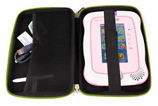Lime Green EVA Hard Case Shell For Use With Kids Vtech Innotab 3 Plus / 3 Tablet