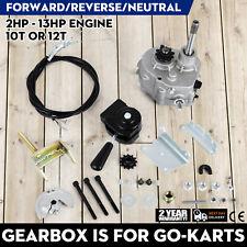Go Kart Forward Reverse Gear box Fits 2HP - 13HP Engine 41P 10T or 12T TAV30