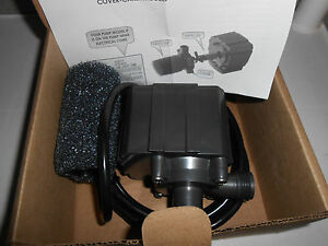 New Danner UL E160713 LISTED / 8C99 Water Garden utility pond pump fish MODEL 5