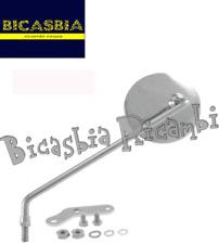 10827 - SPECCHIO TONDO CROMATO SINISTRO VINTAGE VESPA 125 ET3 PRIMAVERA