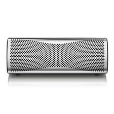 Kef Muo Portable Bluetooth Speaker; Silver (New)