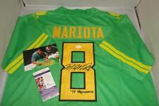 Marcus Mariota signed Oregon Ducks jersey - JSA Certificate - '14 Heisman Winner