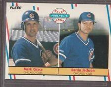 Mark-Grace-1988-Fleer-Rookie-Baseball-Card-Chicago-Cubs-641-NMMT