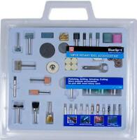 Rotary Tool Accessories Kit 138pc Bit Set Fits Dremel Type Multi Tool Mini Drill