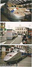 LOT 3 PHOTO mai 1993 gare train maquette et TGV LILLE 59 Nord Pas de Calais 819R