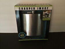 Sharper Image 3320031 40oz. Stainless Steel Oversized Flask