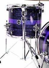 "Crush Drums Sublime Maple ST 18"" Floor Tom/Purple Sparkle Stripe/# 621/New"