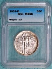 1937-D MS-66 Oregon Trail Commemorative Uncirculated