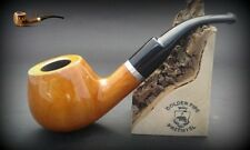 HAND MADE WOODEN TOBACCO SMOKING PIPE PEAR  no 67  Natural Colour  + Filter