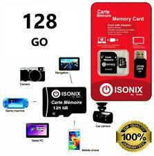Carte Mémoire Micro SD Capacité 32 64 128 Go + Adaptateur Smartphone Tablette PC