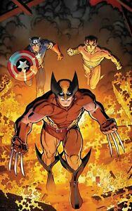 Marvel Comics Presents #1 24 x 36 Poster Arthur Adams NEW ROLLED Wolverine Namor