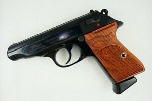 WALTHER PP , WALTHER PPK/S , ROSEWOOD GRIPS,NEW,RARE/REDDKULTT